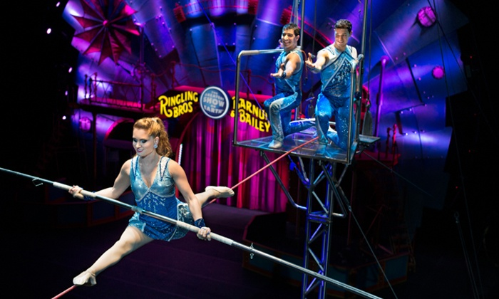 Ringling Bros. and Barnum & Bailey presents Circus XTREME - GIANT Center: <i>Ringling Bros. and Barnum & Bailey</i> Presents <i>Circus XTREME</i> on May 26 at 7:30 p.m. or May 30 at 1 p.m.