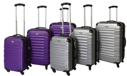 Rivoli Milano Expandable Luggage Set (3-Piece)