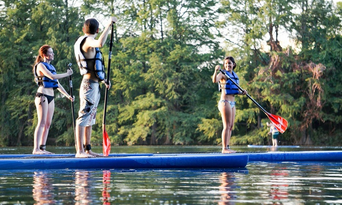 SUP ATX - Austin: Stand-Up Paddleboard Rental in September or October from SUP ATX (Up to 48% Off)