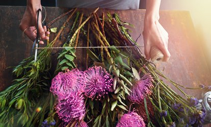 image for Online Floral-Arrangement Course with Optional Garden-Design Course from SMART Majority (99% Off)