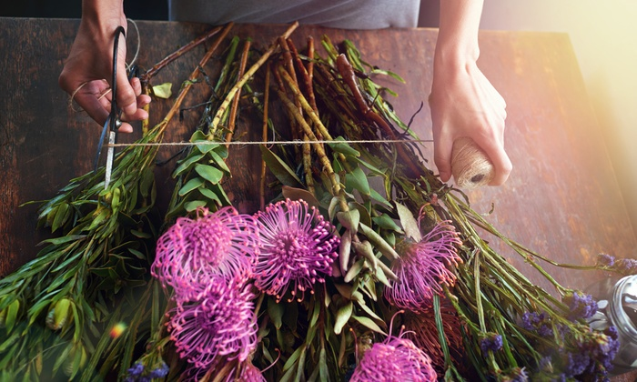 SMART Majority: Online Floral-Arrangement Course with Optional Garden-Design Course from SMART Majority (99% Off)