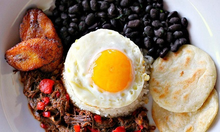 Latin American Dinner for Two or Four at Piqueo Restaurante & Bar (Up to 39% Off)