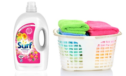 Surf Tropical Laundry Liquid 4.2L