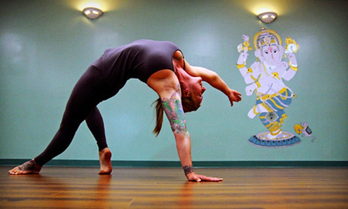 Yoga Shakti Wellness Center - Multiple Locations: 10 Classes or One Month of Unlimited Classes at Yoga Shakti Wellness Center (Up to 79% Off)