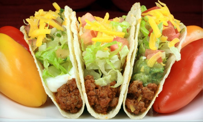 Taco Bravo - Multiple Locations: 5 or 10 Mexican Combo Meals at Taco Bravo (Up to 60% Off)