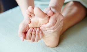 Noble Foot Spa: Foot-Reflexology Package with Head Massage, or Three Foot-Reflexology Massages atNoble Foot Spa (Up to 68% Off)