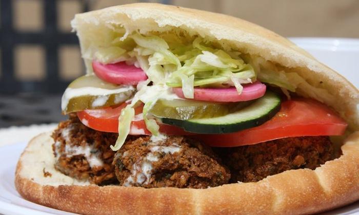 Falafel, etc. - Central Downtown: $10 for $20 Worth of Middle Eastern Food at Falafel, etc.