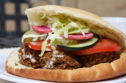 $10 for $20 Worth of Middle Eastern Food at Falafel, etc.
