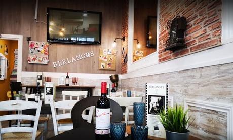 Menú para 2 o 4 personas con entrante, principal, postre y bebida en Berlangas (hasta 59% de descuento)