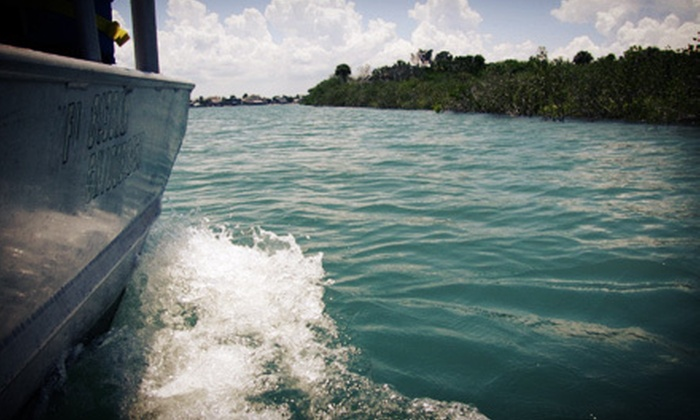 Ponce Inlet Water Sports - Pons Grant: Guided Boat Eco Tour for Two or Four from Ponce Inlet Water Sports (Up to 51% Off)