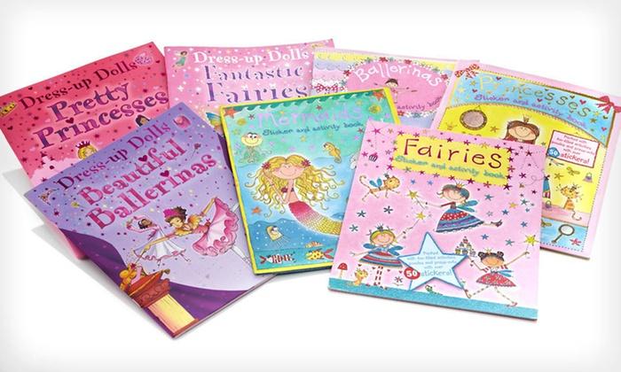 Seven-Book Girls' Activity Set: $13.99 for a Seven-Book Girls' Activity and Sticker Set ($62.65 List Price)