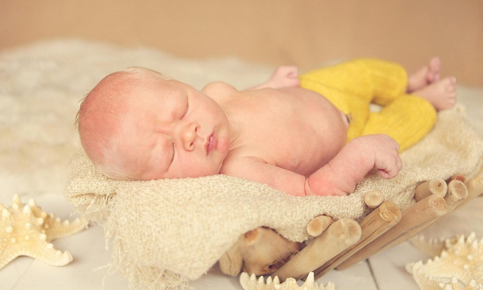 Simply Newborn Studio - Multiple Locations: 30-Minute Studio Photo Shoot with Digital Images from Simply Newborn Studio (87% Off)