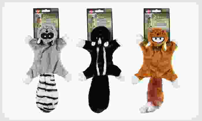 Skinneeez Masked Bandits Dog Toy: $5 for a Skinneeez Masked Bandits Stuffing-Free Dog Toy ($8.39 List Price). Free Returns.
