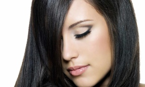 Vanguard College of Cosmetology (Paul Mitchell School): Cut and Color Packages at Vanguard College of Cosmetology (Up to 51% Off). Three Options Available.
