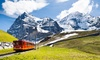 ✈ Milan and Switzerland  3-Night Stay at a Choice of Hotels with Train Tickets and Return Flights*