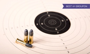 The Gun Range: Shooting-Range Package with Safety Instruction, Gun, Targets, and Ammo for 2, 4, or 6 at The Gun Range
