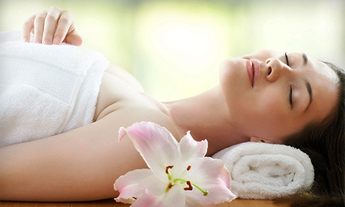 Skye Salon & Spa - Highlands Ranch: 60- or 90-Minute Hot-Towel Massage with Organic Lotion and Aromatherapy at Skye Salon & Spa (Up to 57% Off)