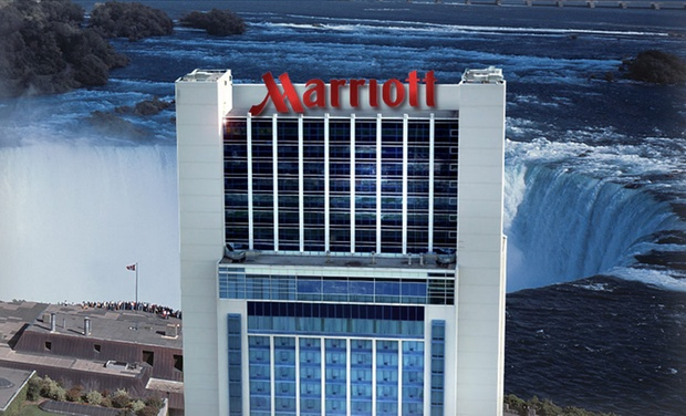 Marriott Gateway on the Falls - Niagara Falls, ON: Stay with Winery Tours and Dining at Marriott Gateway on the Falls in Niagara Falls, ON. Dates into December.