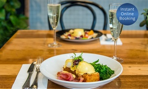 Juno And May: Breakfast or Lunch with a Glass of Prosecco for 2 ($25), 4 ($49) or 6 People ($75) at Juno And May (Up to $209.40 Value)