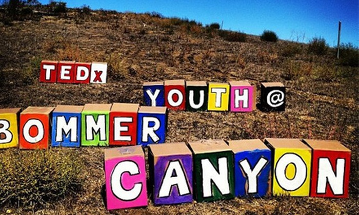 TEDxYouth@BommerCanyon 3rd Annual Conference - Central Costa Mesa: TEDxYouth@BommerCanyon 3rd Annual Conference on Saturday, October 19, at 4:30 p.m. (Up to 42% Off)