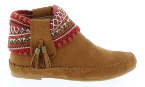 Women's Ankle High Snickers Moccasins at Women's Ankle High Snickers Moccasins, plus 6.0% Cash Back from Ebates.