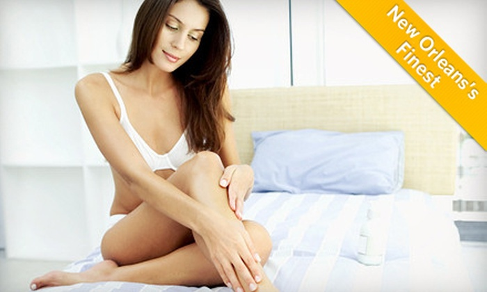 Renew You Medical Spa and Laser Therapy - Kenner: Three Laser Hair-Removal Sessions at Renew You Medical Spa and Laser Therapy (Up to 78% Off). Three Options Available.