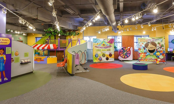 Memorial HealthWorks! Kids' Museum - South Bend: $35 for Sensational Sidekick Access for Up to Six Family Members  at HealthWorks! Kids' ($75 Value)