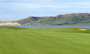 Sask Landing Golf Resort: 18 Holes of Golf for 2 or 4 with Cart, Valid Weekends or Weekdays at Sask Landing Golf Resort (Up to 55% Off)