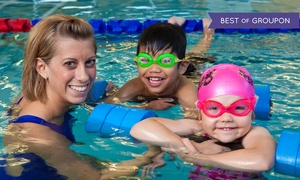 SafeSplash Swim School Houston: One-Month Group Swim-Lesson Package for One or Two Students at SafeSplash Swim School Houston (Up to 60% Off)