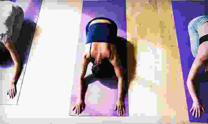 Bikram Yoga Dupont - Dupont Circle: $35 for Five 90-Minute Bikram-Yoga Classes at Bikram Yoga Dupont (Up to $100 Value)