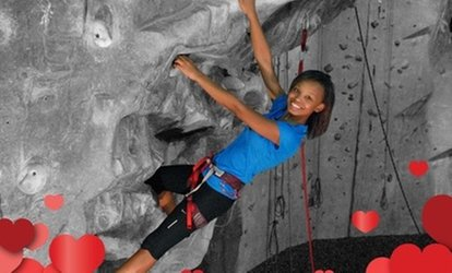 Introductory <strong>Rock-Climbing</strong> Class or Novice Climb Package for Two at Atlanta <strong>Rocks</strong>! (Up to 50% Off)