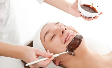 Hot & Cold Stone Microdermabrasion Facial or Organic Chocolate Facial at Organic Body & Soul Spa (Up to 61% Off)