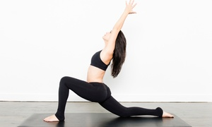 Highland Yoga: One Month of Unlimited Yoga Classes or 10 Classes at Highland Yoga (Up to 72% Off)