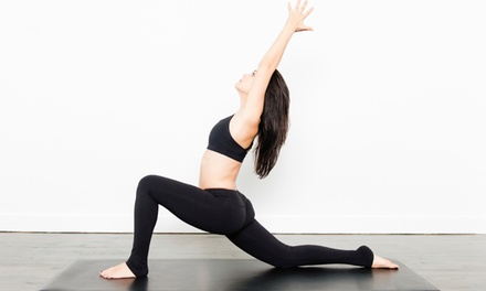 One Month of Unlimited Yoga Classes or 10 Classes at Highland Yoga (Up to 68% Off)