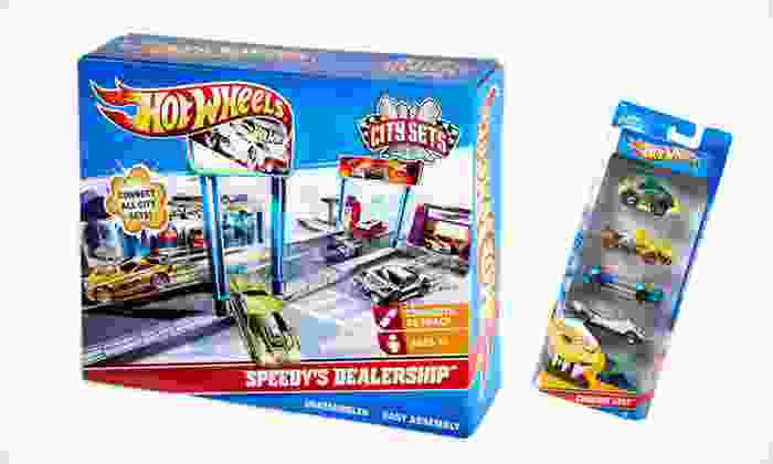 Hot Wheels City Sets Bundle: $19 for a Hot Wheels City Sets Bundle ($32.97 Total Value). Free Shipping and Free Returns.