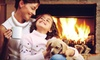 Fireside Hearth & Home - Beatties Ford - Trinity: $869 for Heatilator Novus 33 Direct-Vent Fireplace with a Standard Vent Kit from Fireside Hearth & Home (a $1,738 Value)