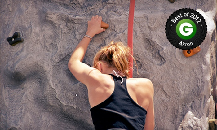 Kendall Cliffs - Boston: Rock-Climbing Package for Two or Family of Six with Introductory Lesson at Kendall Cliffs in Peninsula (Up to 85% Off)