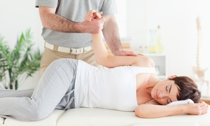 Crowne Chiropractic Clinic: Complete Chiropractic Exam, X-rays, and One or Three 60-Minute Massages at Crowne Chiropractic Clinic (Up to 83% Off)