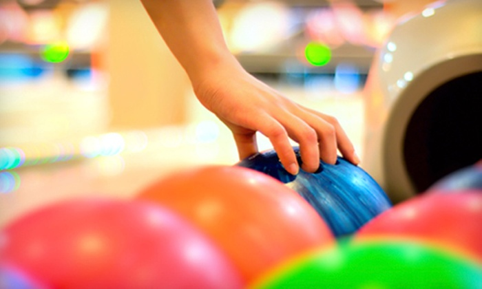 Derby Family Entertainment Center - Riverside Café of Derby: Bowling for Two, Four, or Eight with Shoe Rentals and Sodas at Derby Family Entertainment Center (Up to 55% Off)