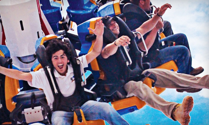 Steel Pier - Steel Pier Amusements: $29 for an 80-Ticket Book for Amusement Park Rides at Steel Pier in Atlantic City ($60 Value)