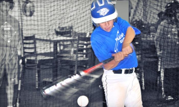 Players Edge Baseball Academy - Boca Raton: One-Hour of Batting Cage Use or One-Day Baseball Clinic at Players Edge Baseball Academy (Up to 63% Off)
