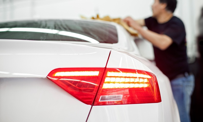 Blue Star Auto Salon - Shoreline: Car-Wash Packages at Blue Star Auto Salon (Up to 35% Off). Two Options Available.