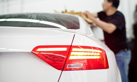 Super Mini Valet with Optional Express Wax Service at Splash Autocare St Clair Street Aberdeen (Up to 58% Off)