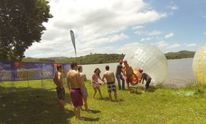 Groovy Balls: Aqua Zorbing Ride for R150 for Two with a Discount Voucher at Groovy Balls (Up to 52% Off)