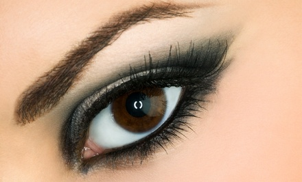 Eyelash Extensions for the Upper Eyelids or Upper and Lower Eyelids at Plush Beauty Bar (Up to 63% Off)