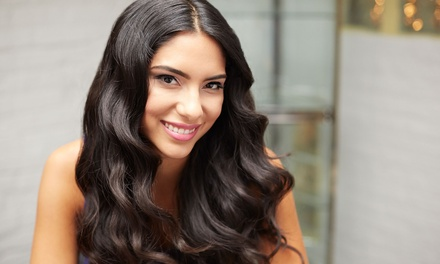 Haircut with Blowdry and Styling with Botanical Therapy Treatment at Scott J. Aveda Salon (Up to 40% Off)