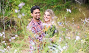 Karenscape Photography: 60-Minute Engagement Photo Shoot with Retouched Digital Images from Karenscape Photography (70% Off)