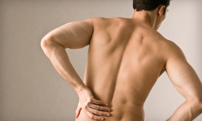 Sharp Chiropractic - South Fork: $47 for Four-Visit Chiropractic Package at Sharp Chiropractic in Winston-Salem (Up to $508 Value)