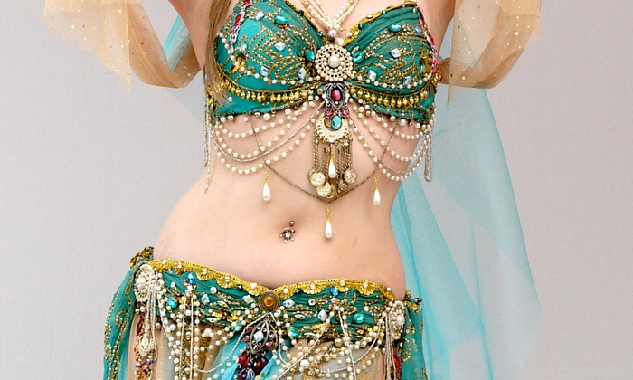 Bellydance America - Garment District: Three Dance Classes from Bellydance America (76% Off)