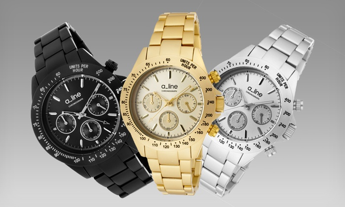 a_line Women's Amore and Maya Watches: a_line Women's Amore and Maya Watches (90% Off). Multiple Designs Available. Free Shipping and Returns.